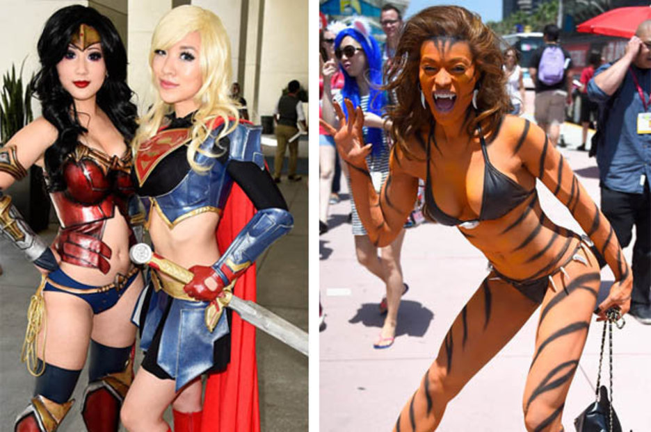 Comic con sexiest naked girls