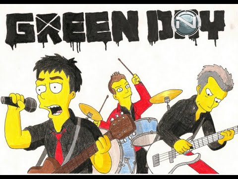 Green day simpsons youtube