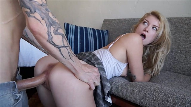 Sexy girls getting killed by gigantic penis